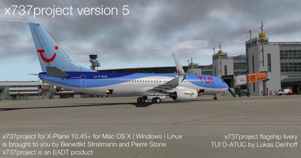 x737project v5 default livery at EDDL.jpg