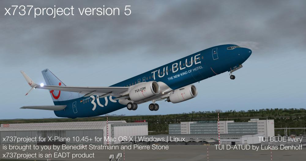 x737project v5 TUI BLUE livery at EDDL.jpg
