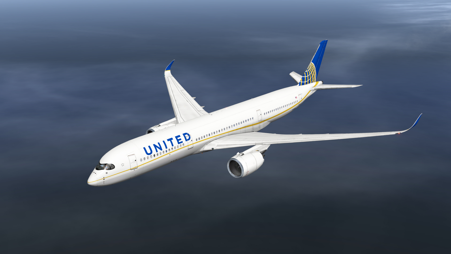 United Airlines Airbus A350-900 - Aircraft Skins - Liveries - X