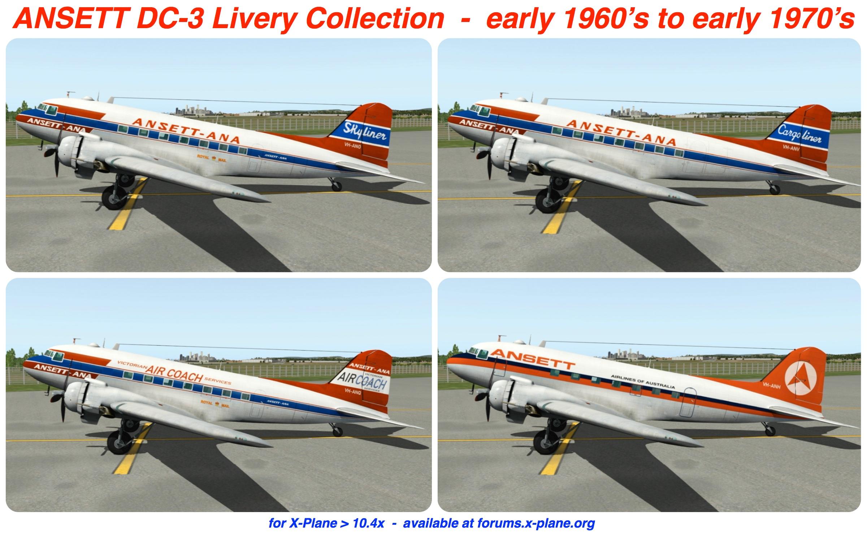 DC-3: Ansett's