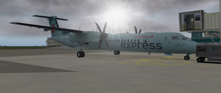 Air Canada Express liveries for FlyJSim Dash 8 Q400 - Aircraft Skins