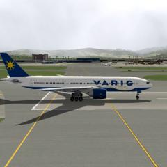 Varig livery to ramzzess 777-200LR - Aircraft Skins