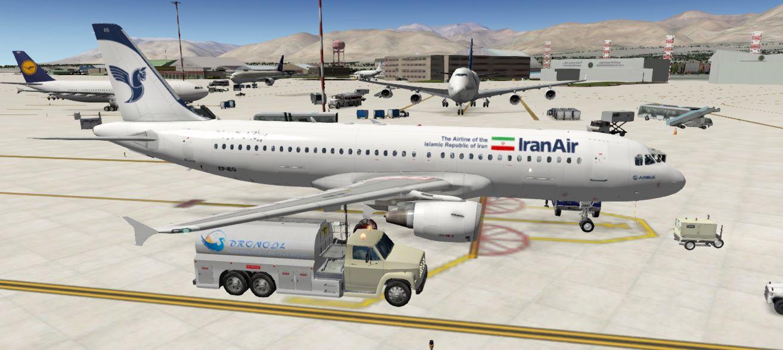 Iran Air livery for Jardesign A320 - Aircraft Skins - Liveries - X