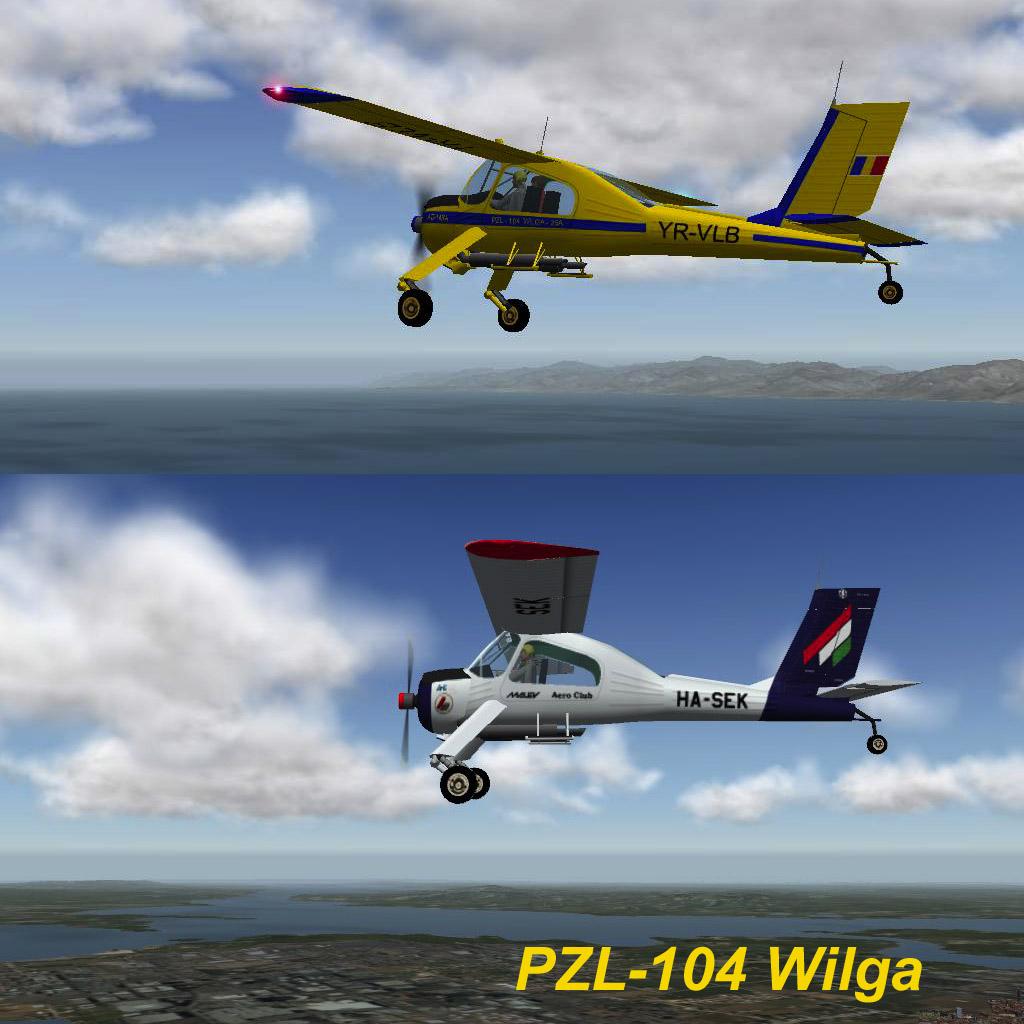 PZL-104 Wilga for v 8 & 9 - V8 General Aviation Prop Singles