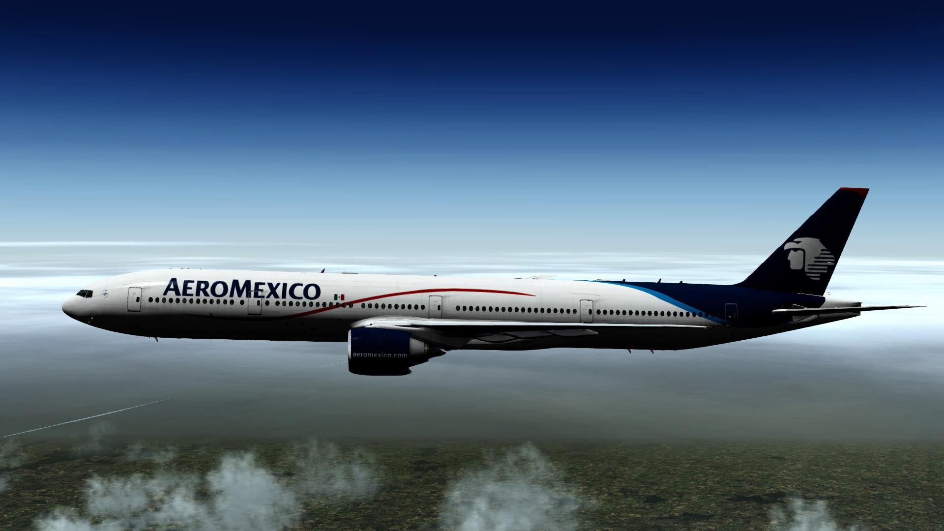 New AeroMexico - Boeing 777-300ER - Aircraft Skins - Liveries - X