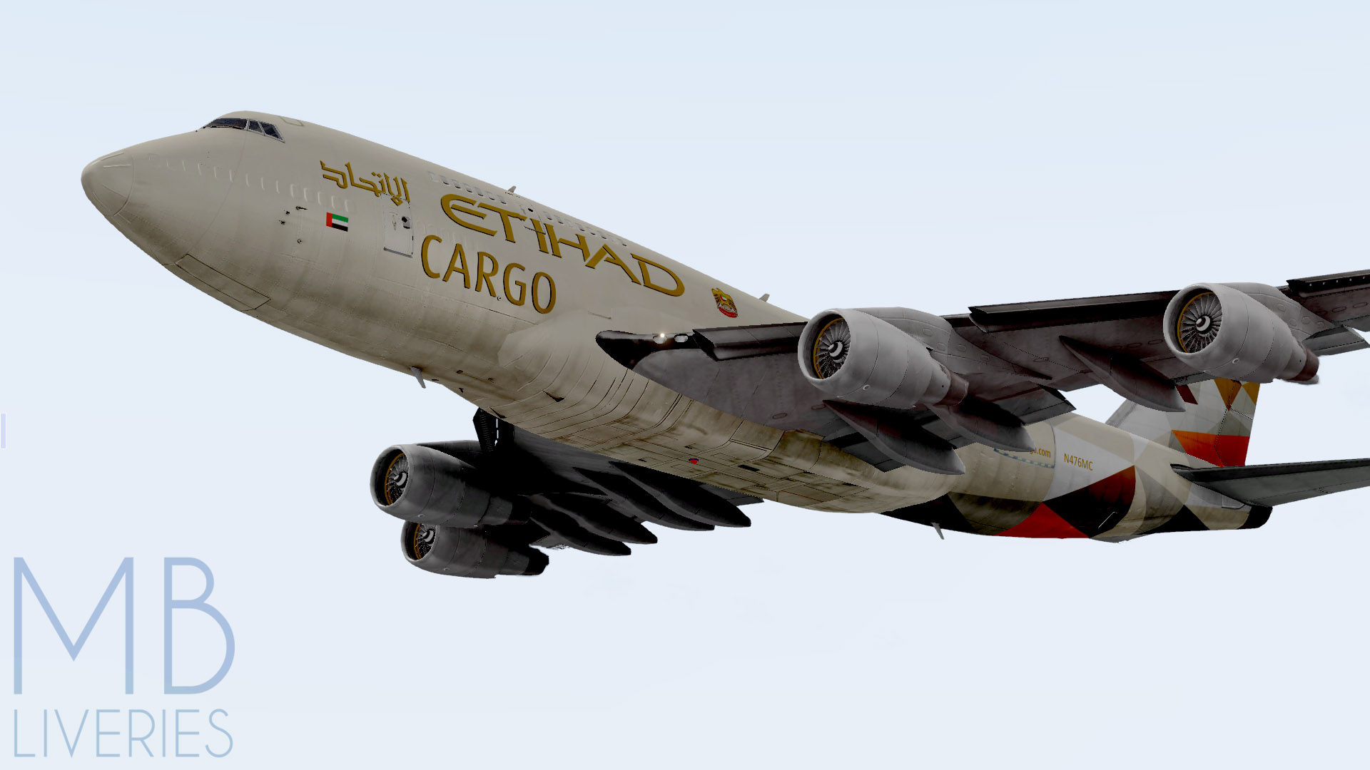 Etihad Airways Cargo (New) - Boeing 747-400 (Default) - Aircraft