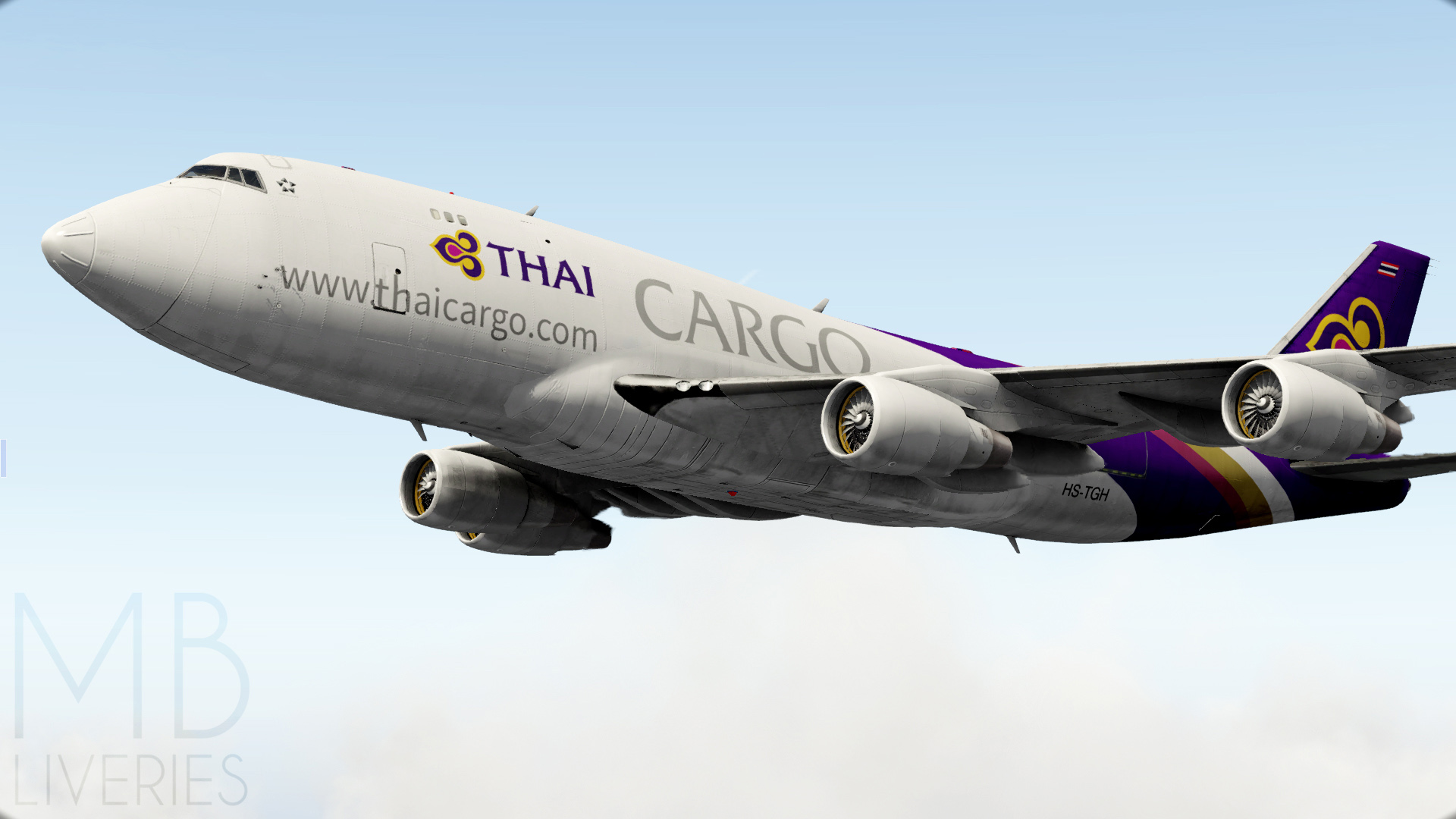 Thai Cargo - Boeing 747-400F (default) - Aircraft Skins