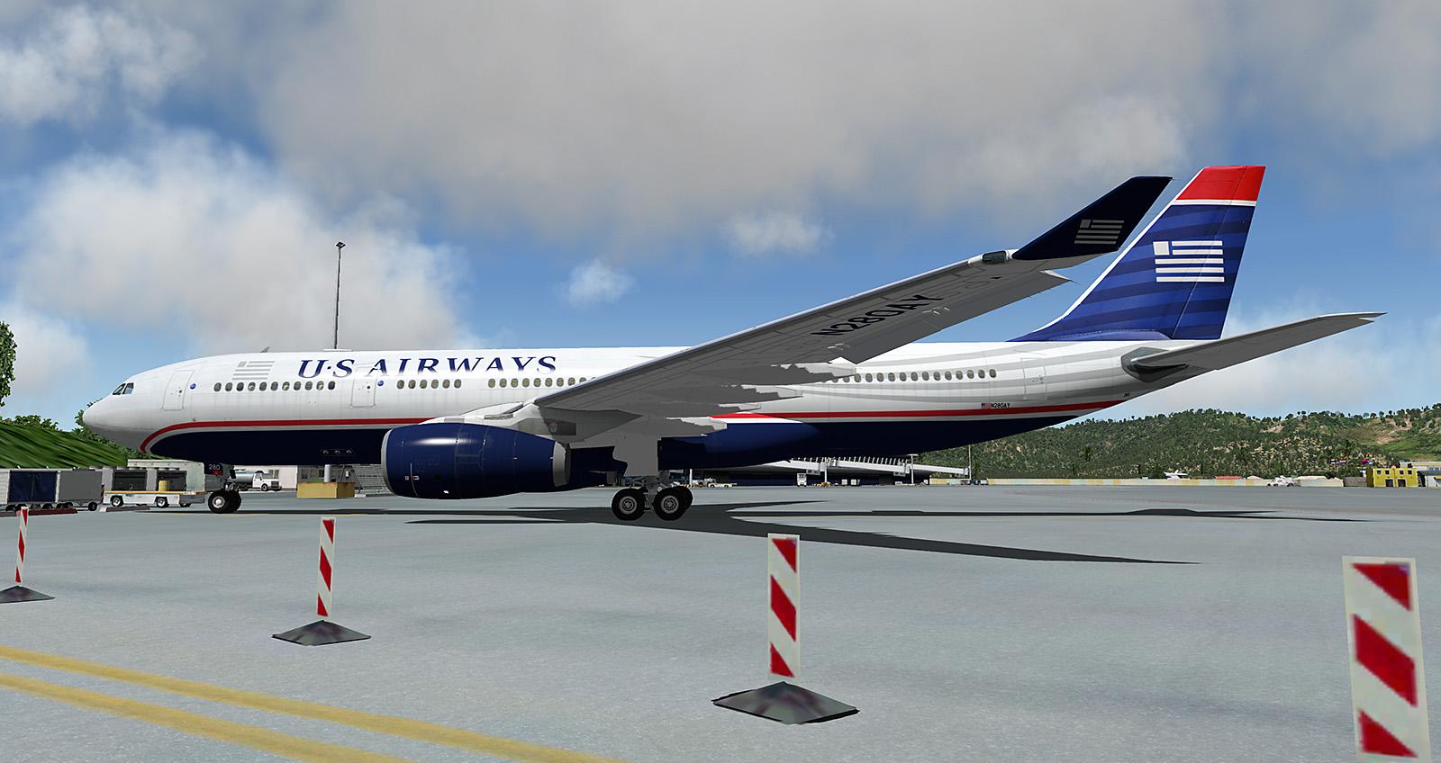 Jardesign A330 US Airways N280AY - Aircraft Skins - Liveries