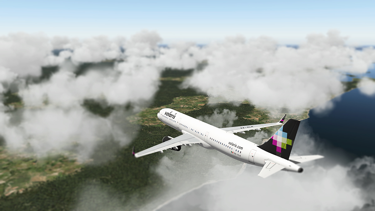 Volaris A321 (Peter Hager) - Aircraft Skins - Liveries - X