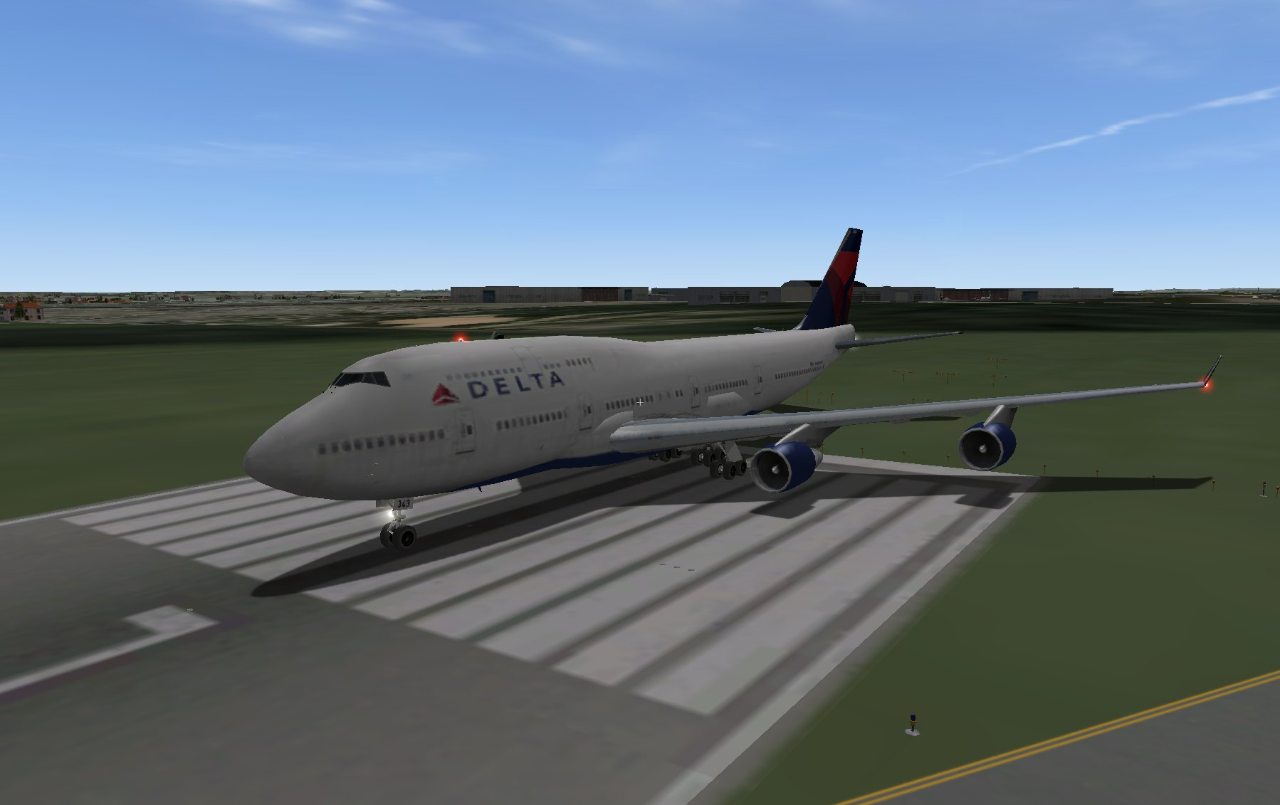 Delta 747-400 - Aircraft Skins - Liveries - X-Plane Org Forum