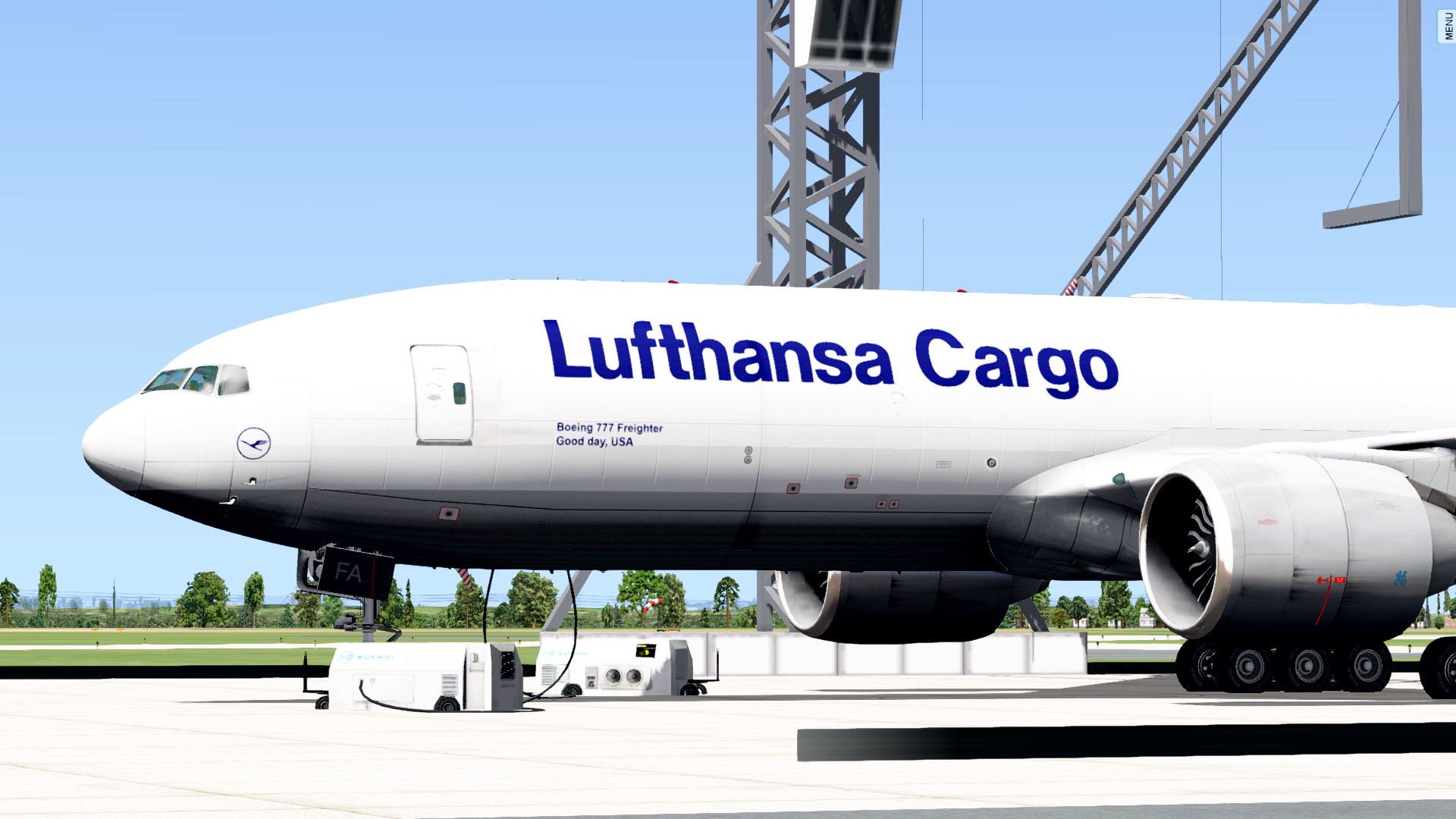 Lufthansa Cargo - Boeing 777-200F - Aircraft Skins