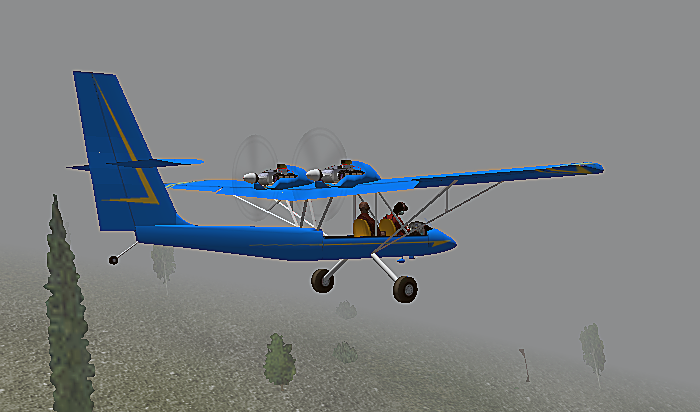 Aircam - Civilian Fixed-Wing Light Aircraft 1946 and later - X-Plane