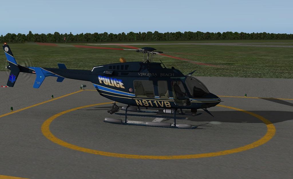 bell 407 virginia beach police aircraft skins liveries  milviz bell 407 sp3.php #13