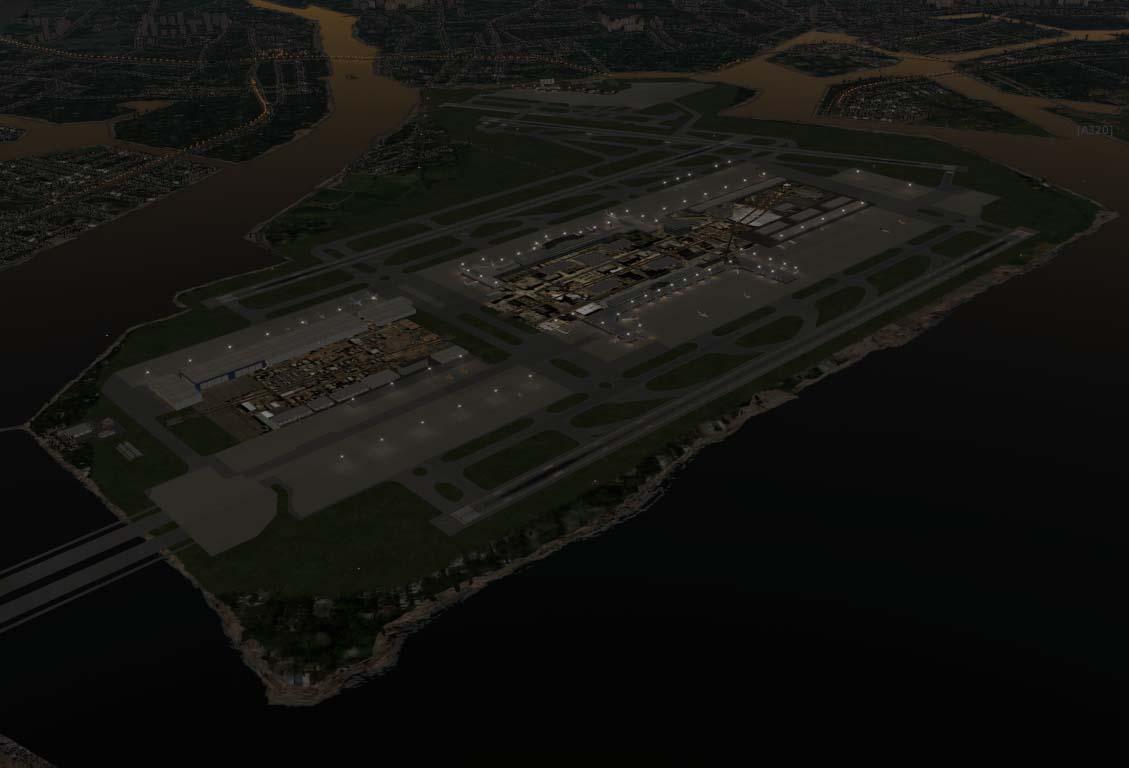 RJTT 东京羽田机场- 机场地景下载|Airport Downloads - 模拟飞行下载中心