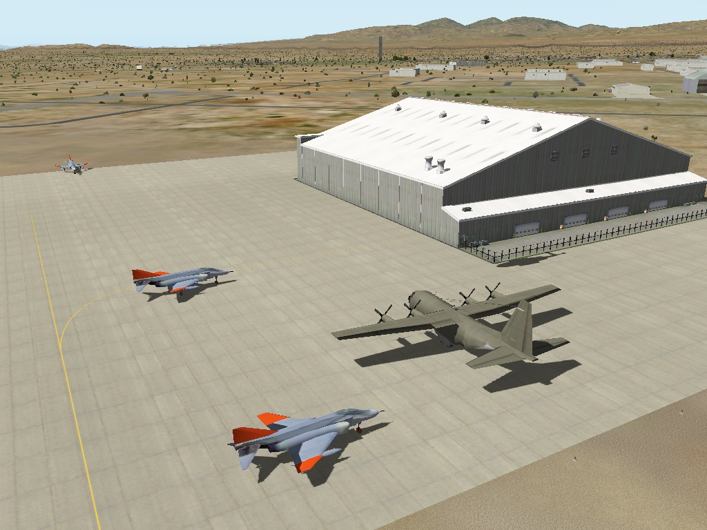 KMHV Mojave Air & Spaceport - Scenery Packages (v11,v 10, v9