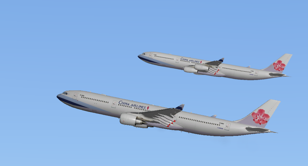 China Airlines A330-300/A340-300 liveries - Aircraft Skins