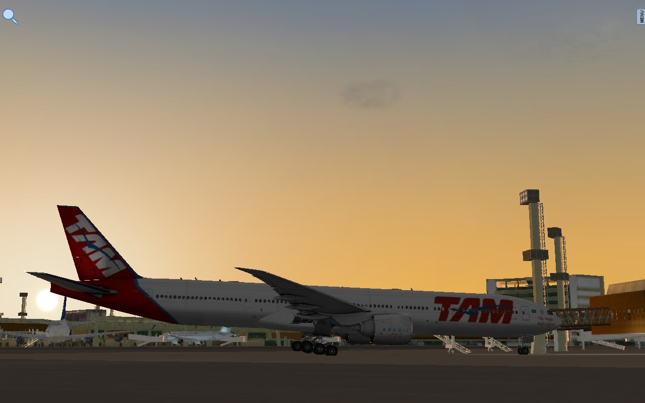 TAM livery to ramzzess 777-300 - Aircraft Skins - Liveries