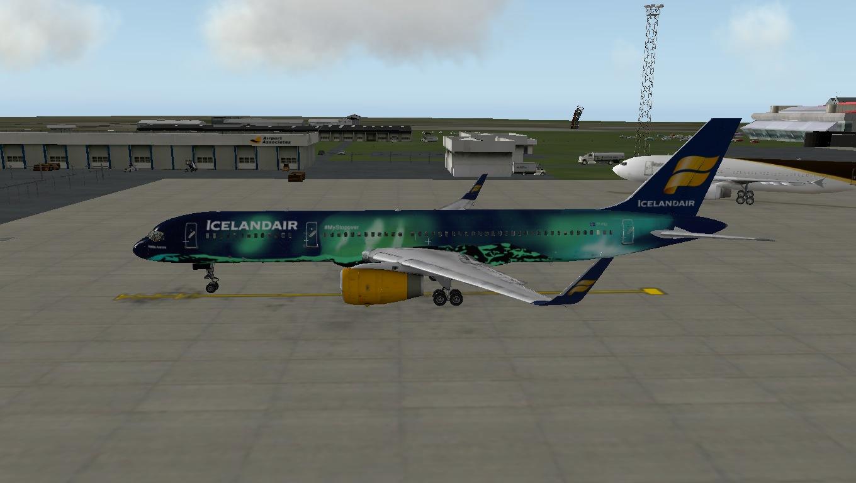 Hekla Aurora Icelandair Boeing 757 Flight Factor - Aircraft