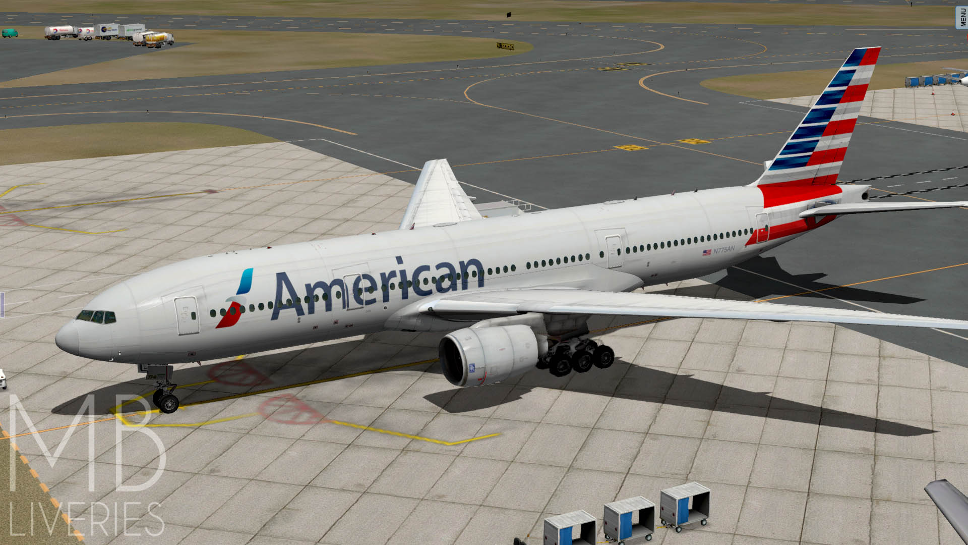 American Airlines (New) - Boeing 777-200ER/LR - Aircraft