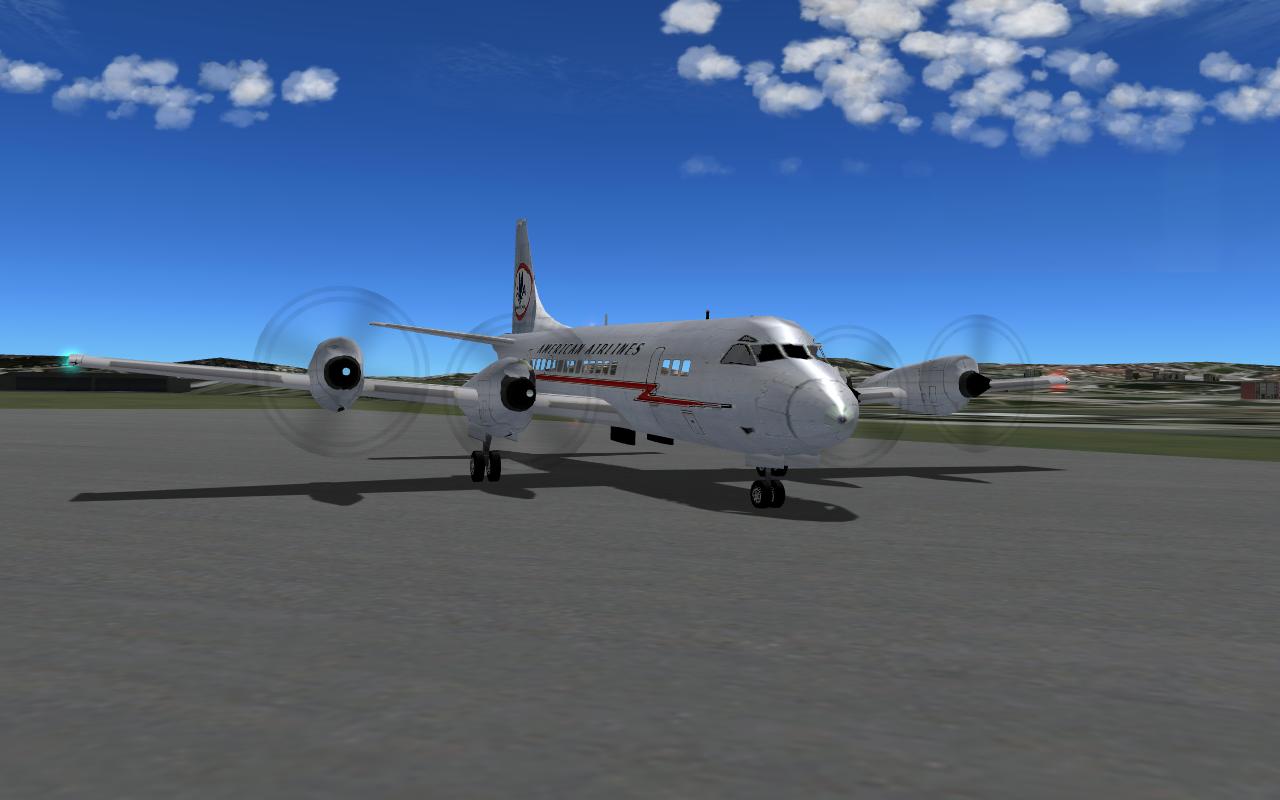 Lockheed L-188 Electra - Civilian Fixed-Wing Heavy Metal