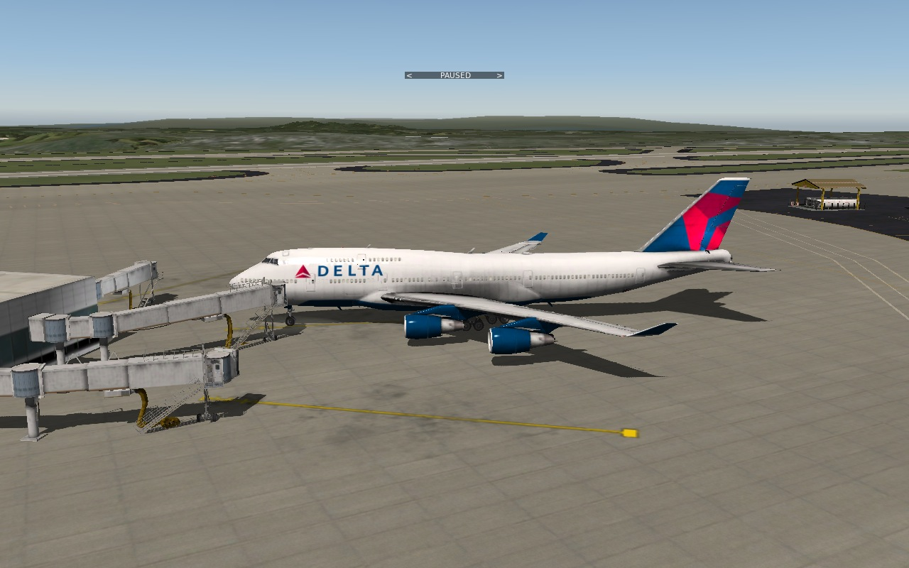 XP10 Default 747 Delta Airlines - Aircraft Skins - Liveries