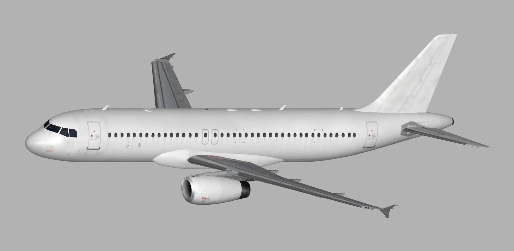 Flightfactor A320 Paintkit