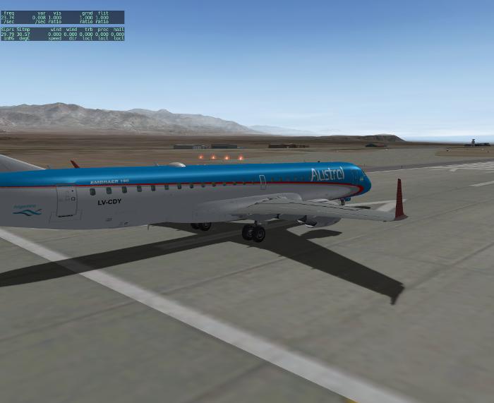 SSG Embraer 190 Austral Livery - Aircraft Skins - Liveries - X-Plane