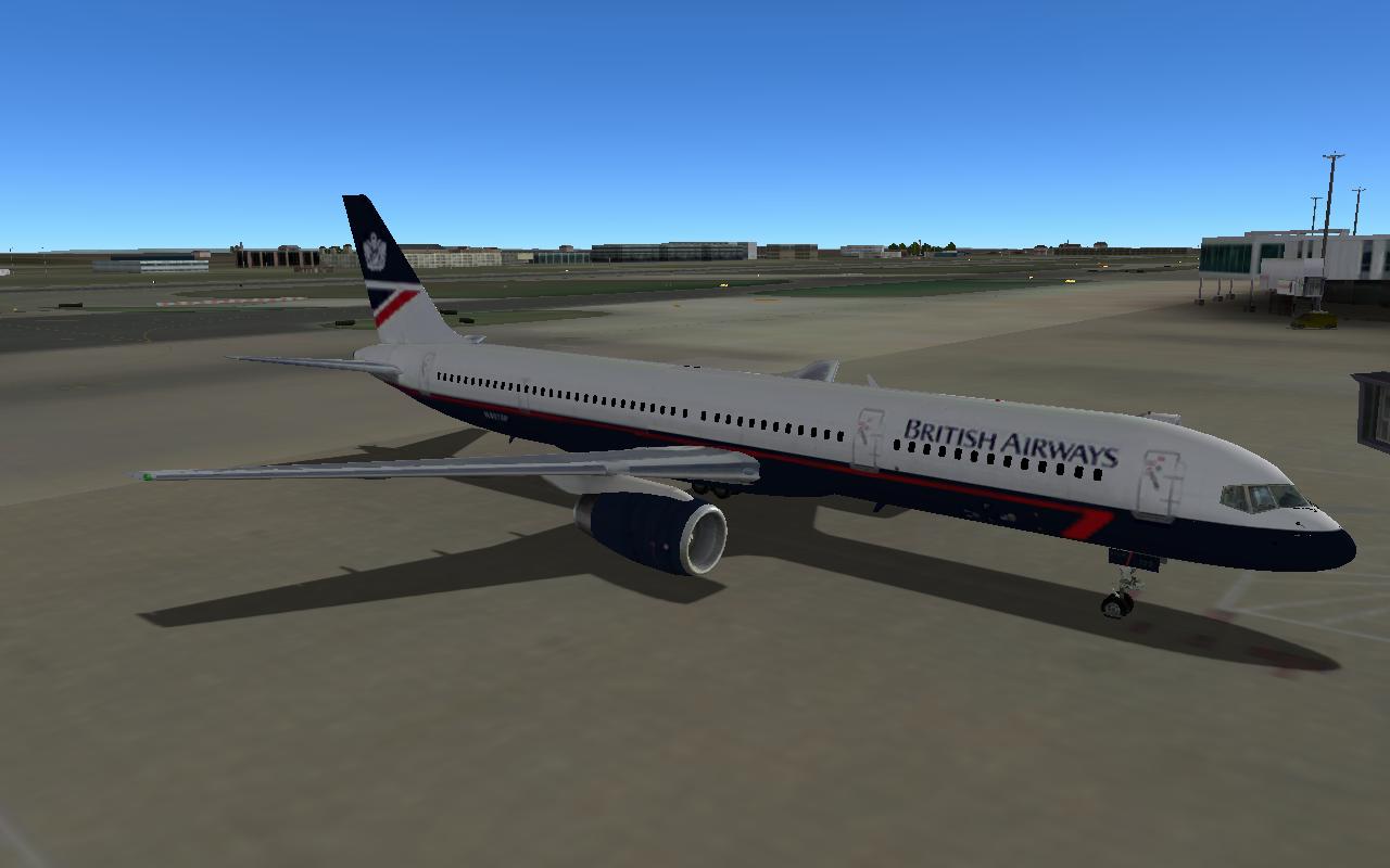 British Airways Landor livery for the XPFW 757-200 RR