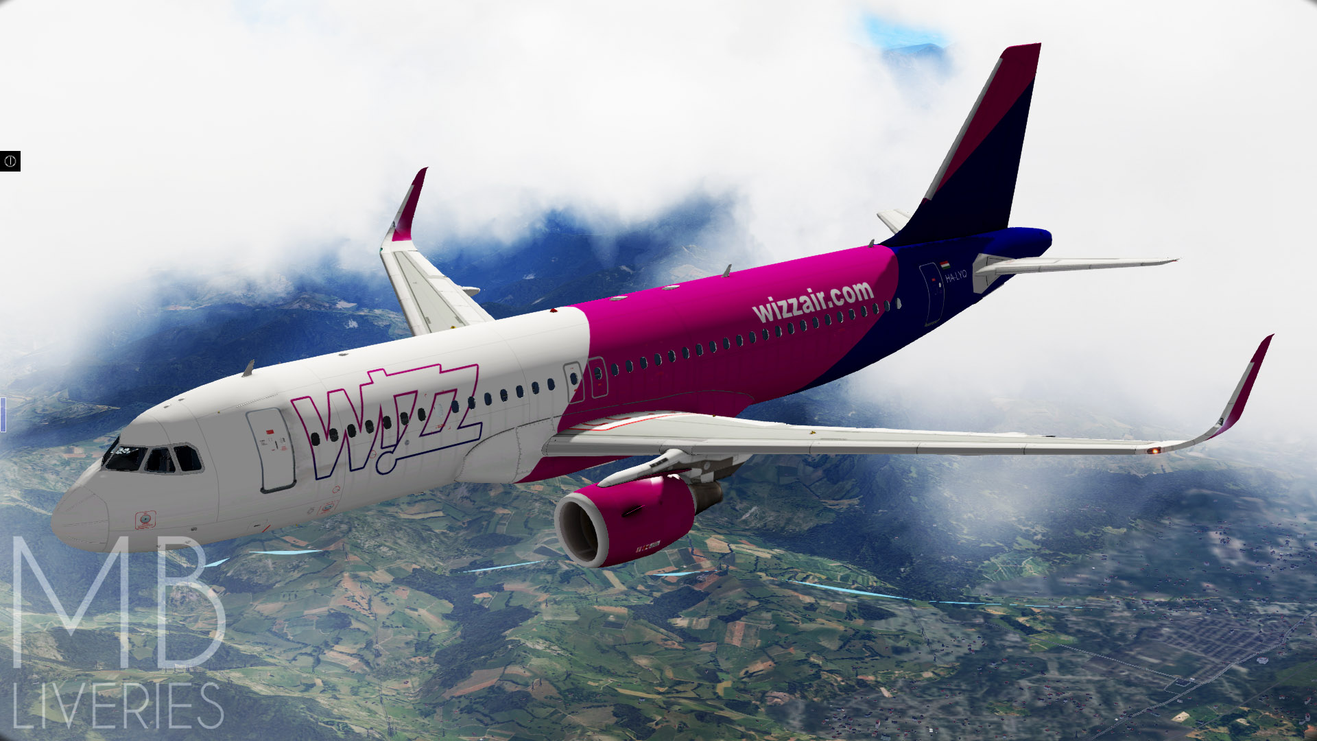 Wizz Air New Airbus A320neo Aircraft Skins Liveries X Plane Org Forum