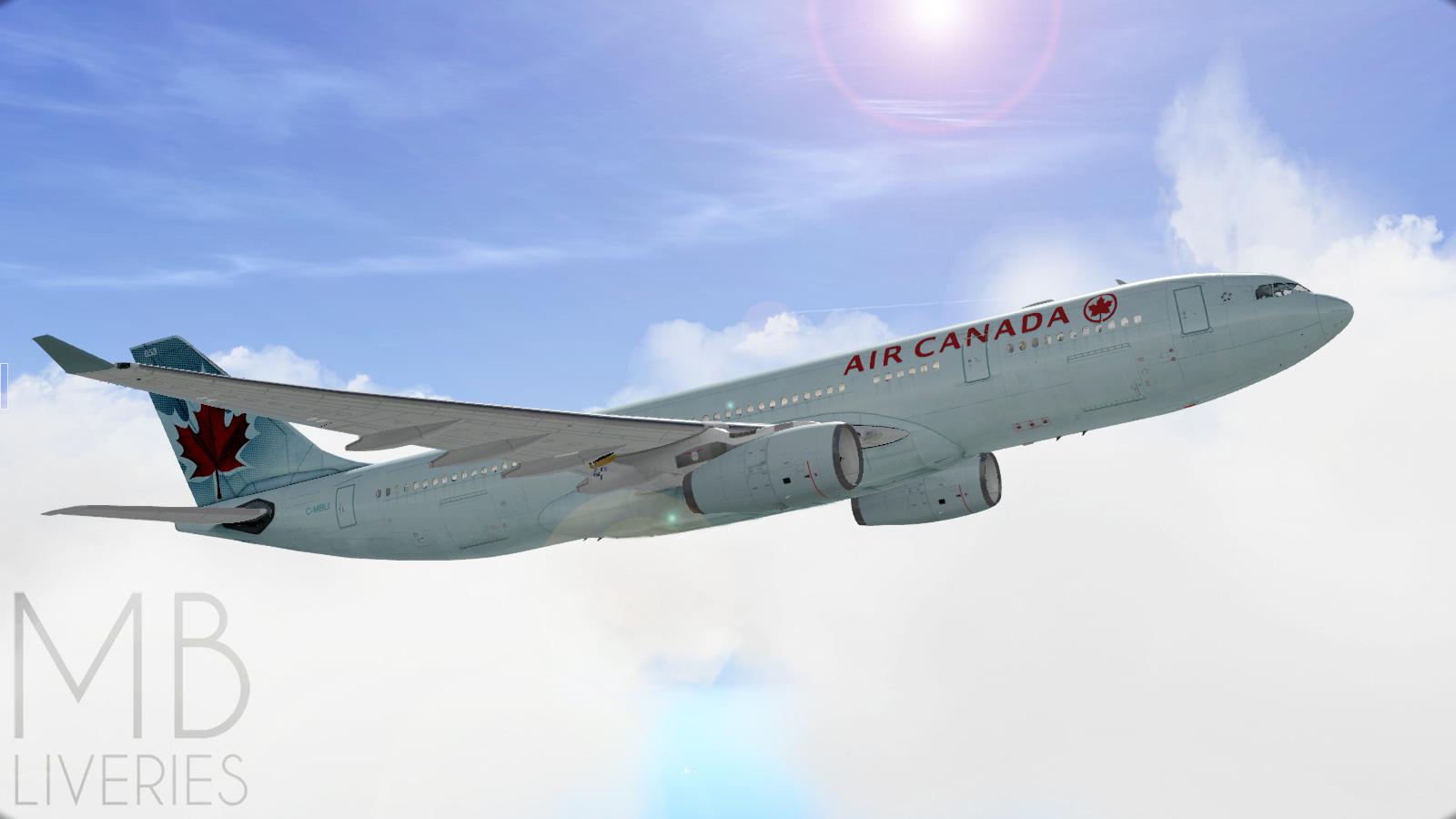 Air Canada - Airbus A330-200 JarDesign - Aircraft Skins - Liveries
