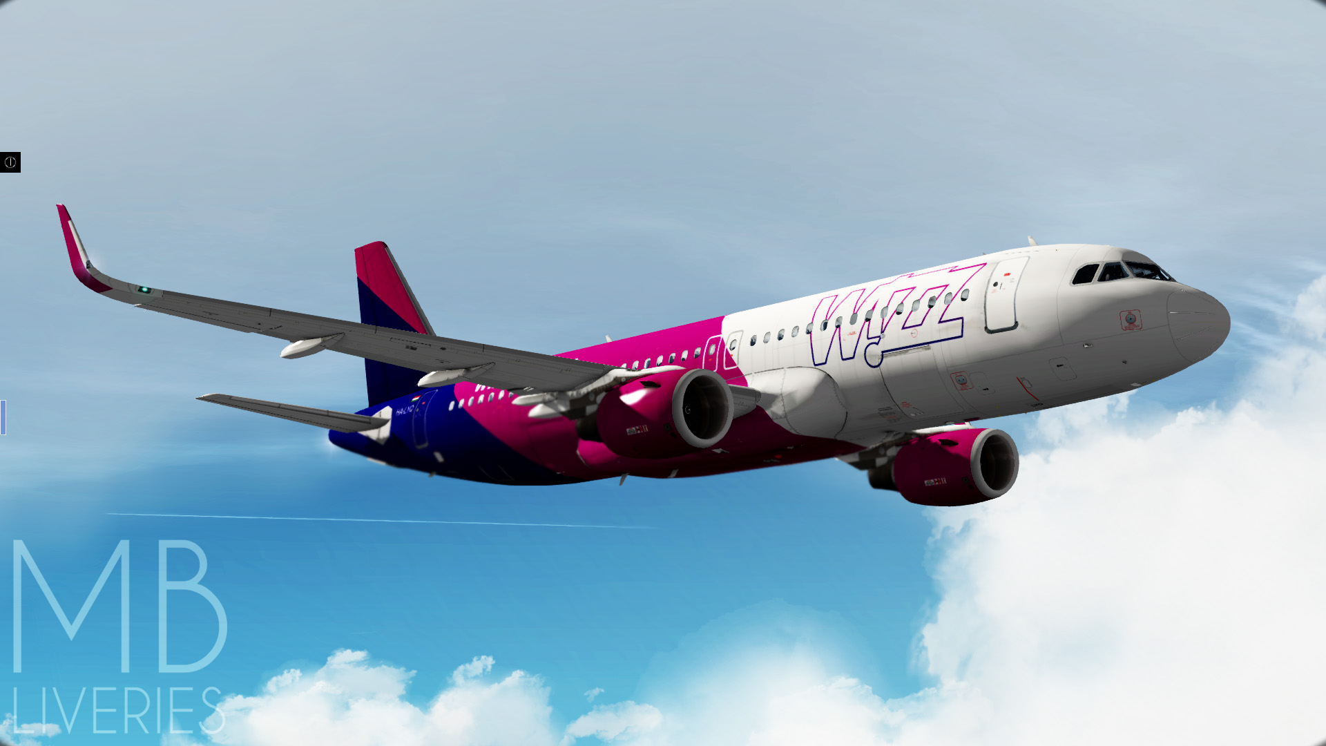 Wizz Air (New) - Airbus A320neo - Aircraft Skins - Liveries