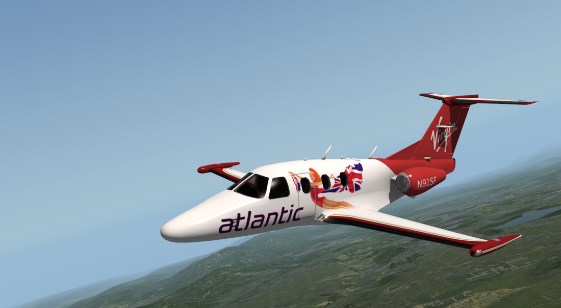 Eclipse 550 - Civilian Fixed-Wing Light Aircraft 1946 and