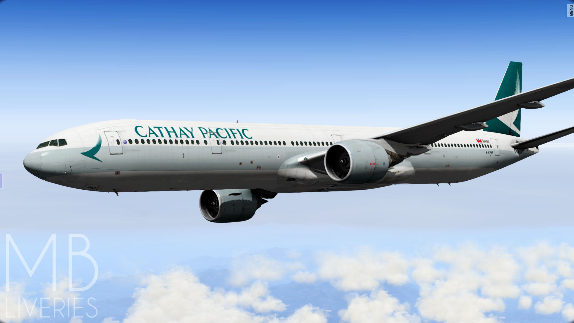 Cathay Pacific (New) - Boeing 777-300ER - Aircraft Skins - Liveries