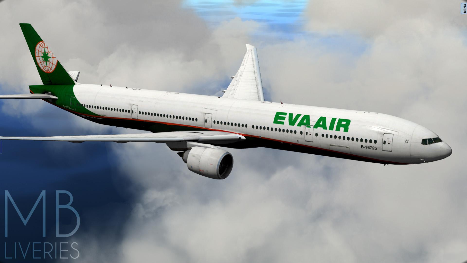 EVA Air (New) - Boeing 777-300ER - Aircraft Skins - Liveries