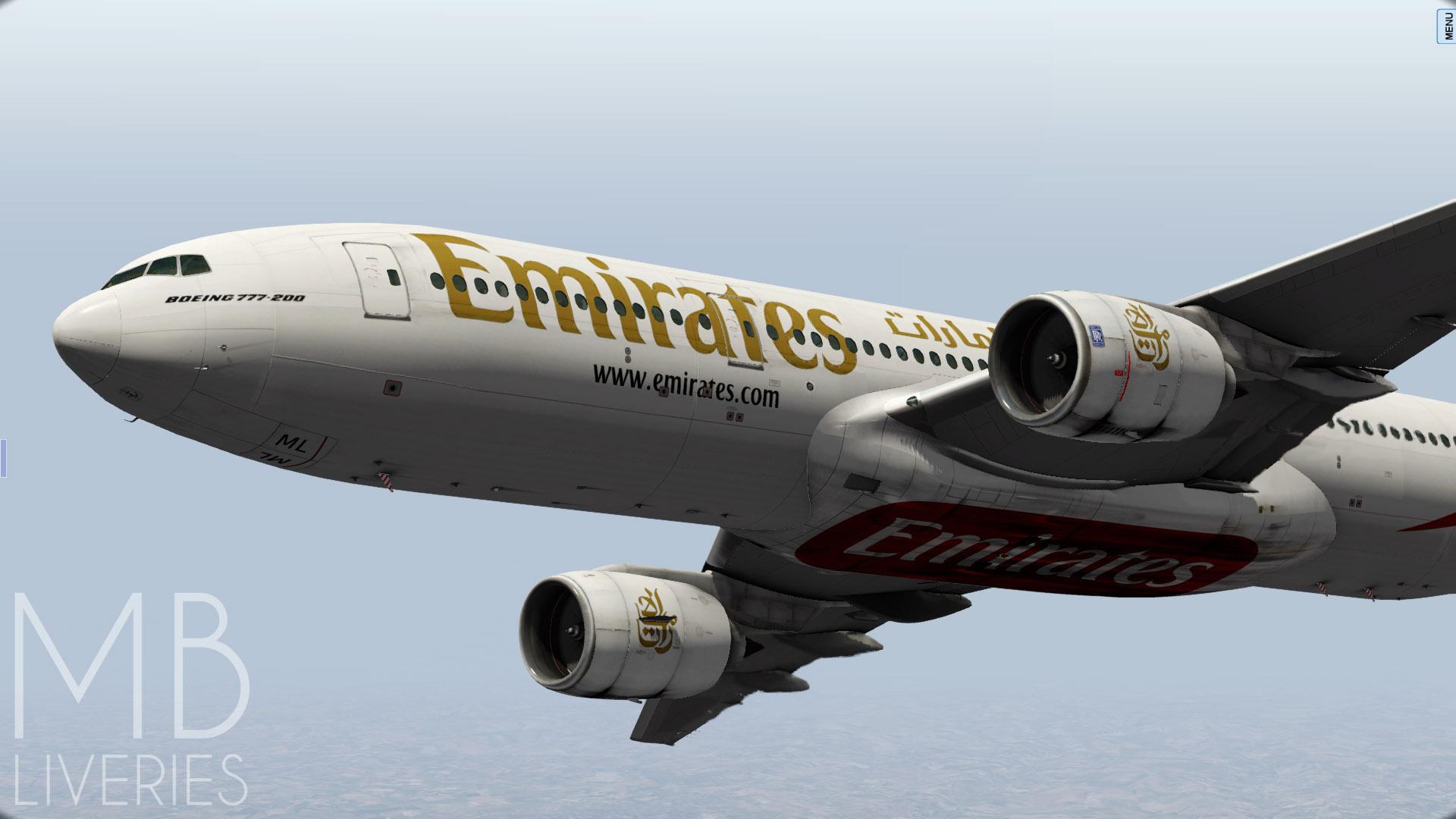 Emirates - Boeing 777-200LR/ER - Aircraft Skins - Liveries