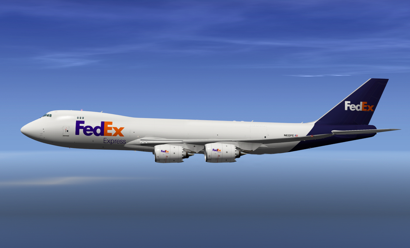 SSG 747-8F - FedEx Livery (Optimized for the new Version 1 5