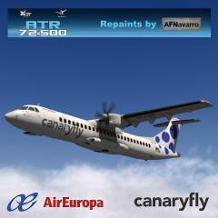Liveries Air Europa & canaryfly for ATR-72 - Aircraft Skins
