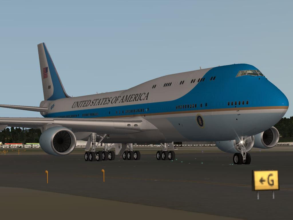 SSG 747 8i Air Force One SSG Liveries X Plane.Org Forum