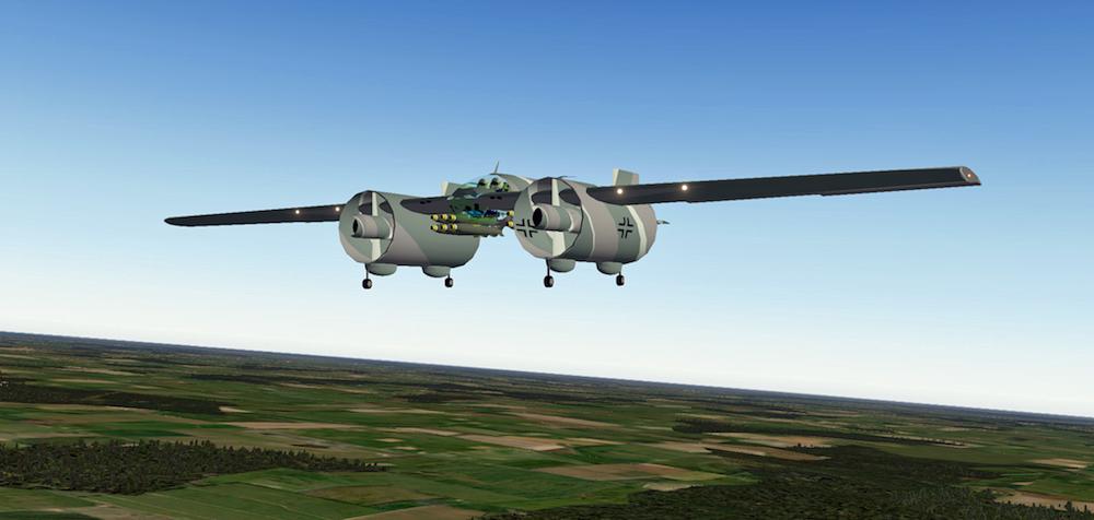 combat aerodyne alexander lippisch modified custom designs x