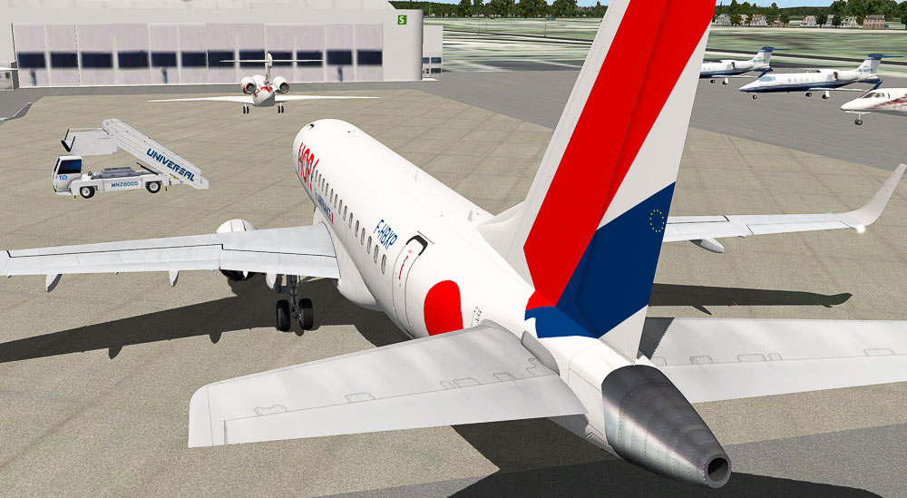 Embraer E175 by X-Crafts HOP Air France Livery - Aircraft