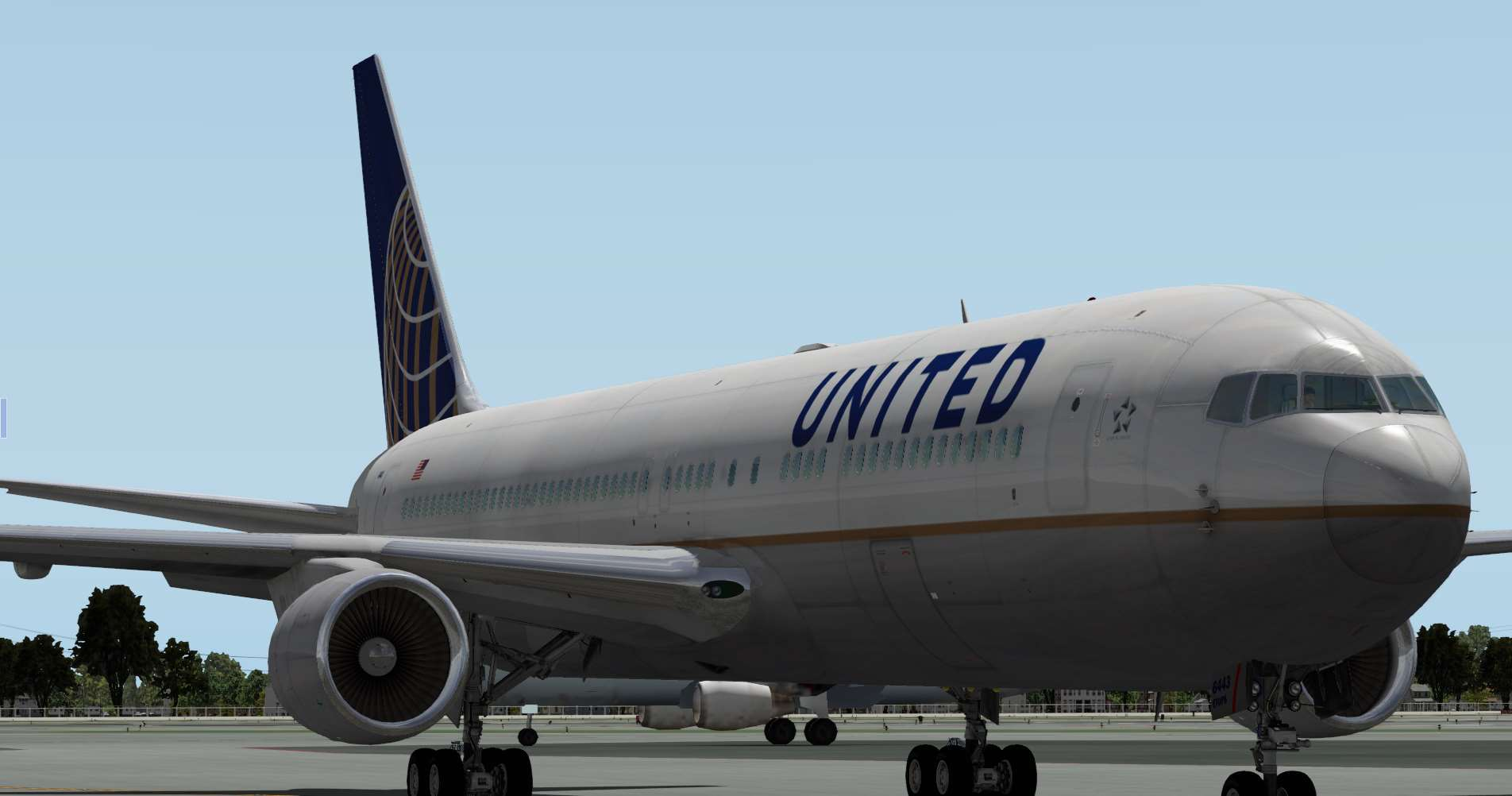 Flight Factor 767-300 United - N643UA - Aircraft Skins - Liveries