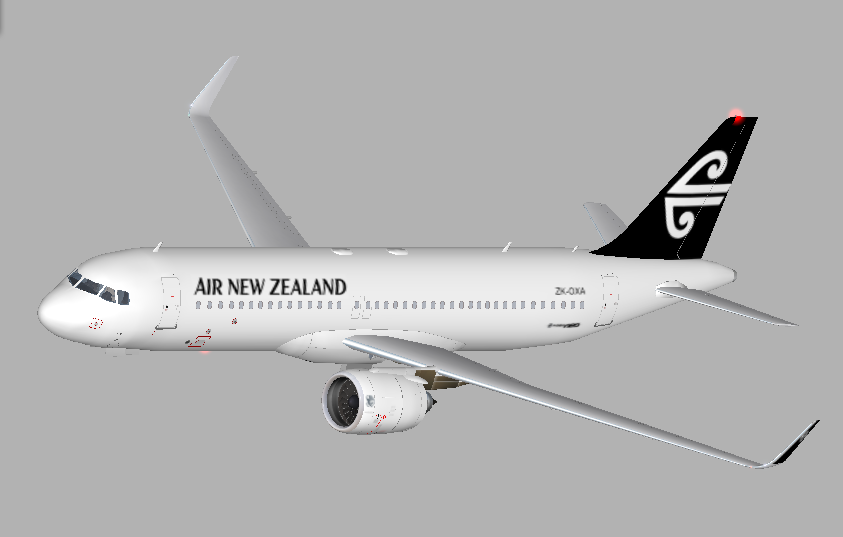 Air New Zealand for Riviere A320neo - Aircraft Skins - Liveries - X