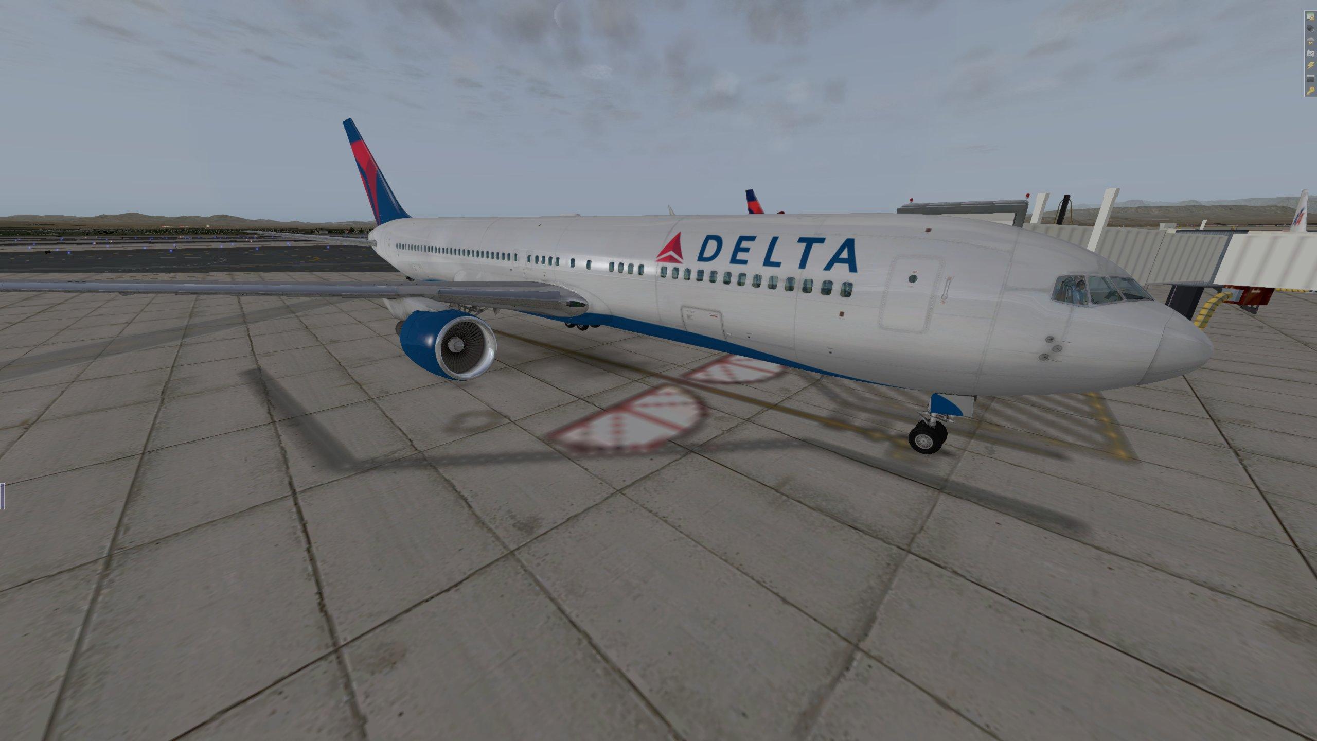 FF 767-300 Delta Livery - Aircraft Skins - Liveries - X