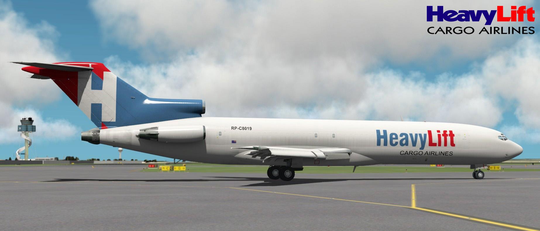 HeavyLift Cargo Airlines Boeing 727-227F 'RP-C8019' FlyJSim