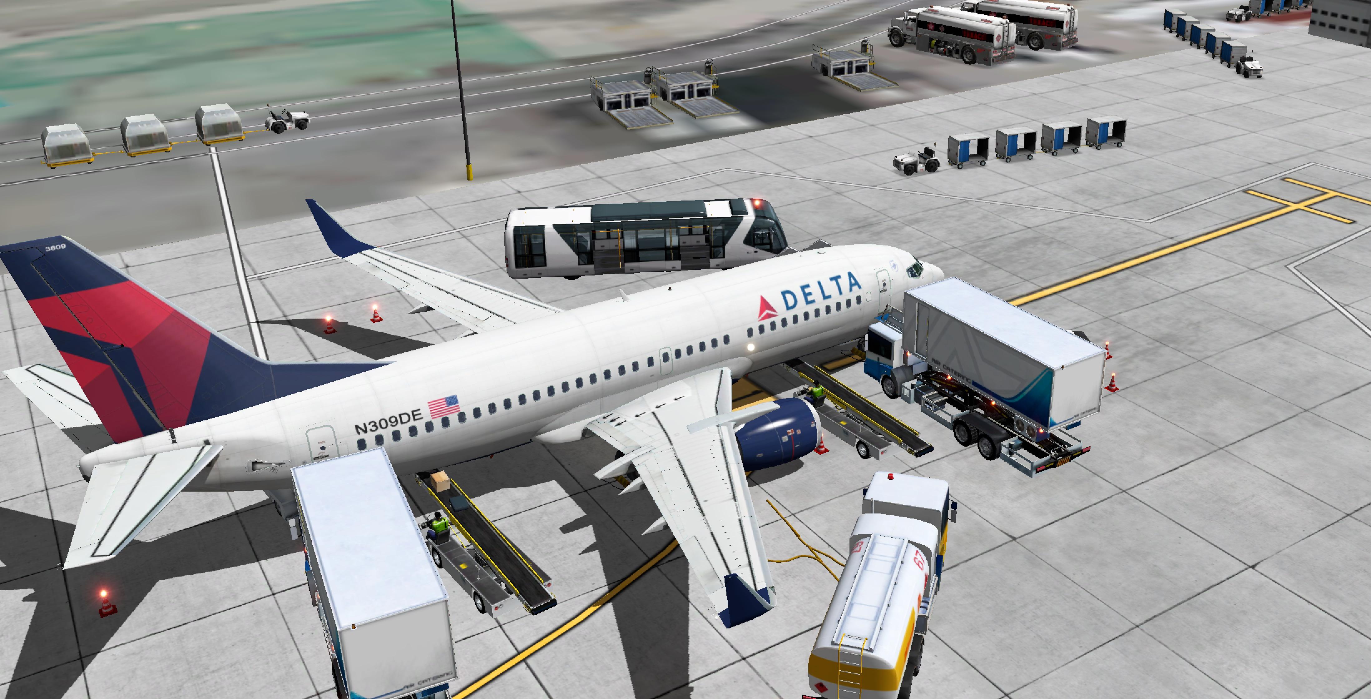 Ground Handling Deluxe SET for IXEG 737-300 - Payware
