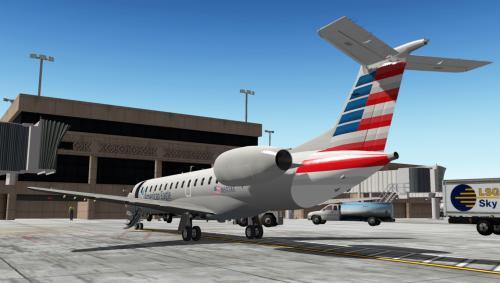 American Eagle (2012 livery) - ERJ-140 - Aircraft Skins