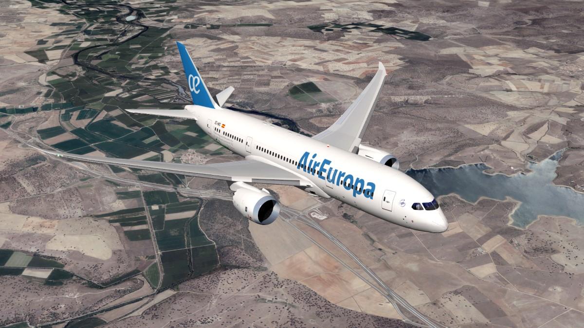 Air Europa livery for B-787 Dreamliner - 787 Dreamliner