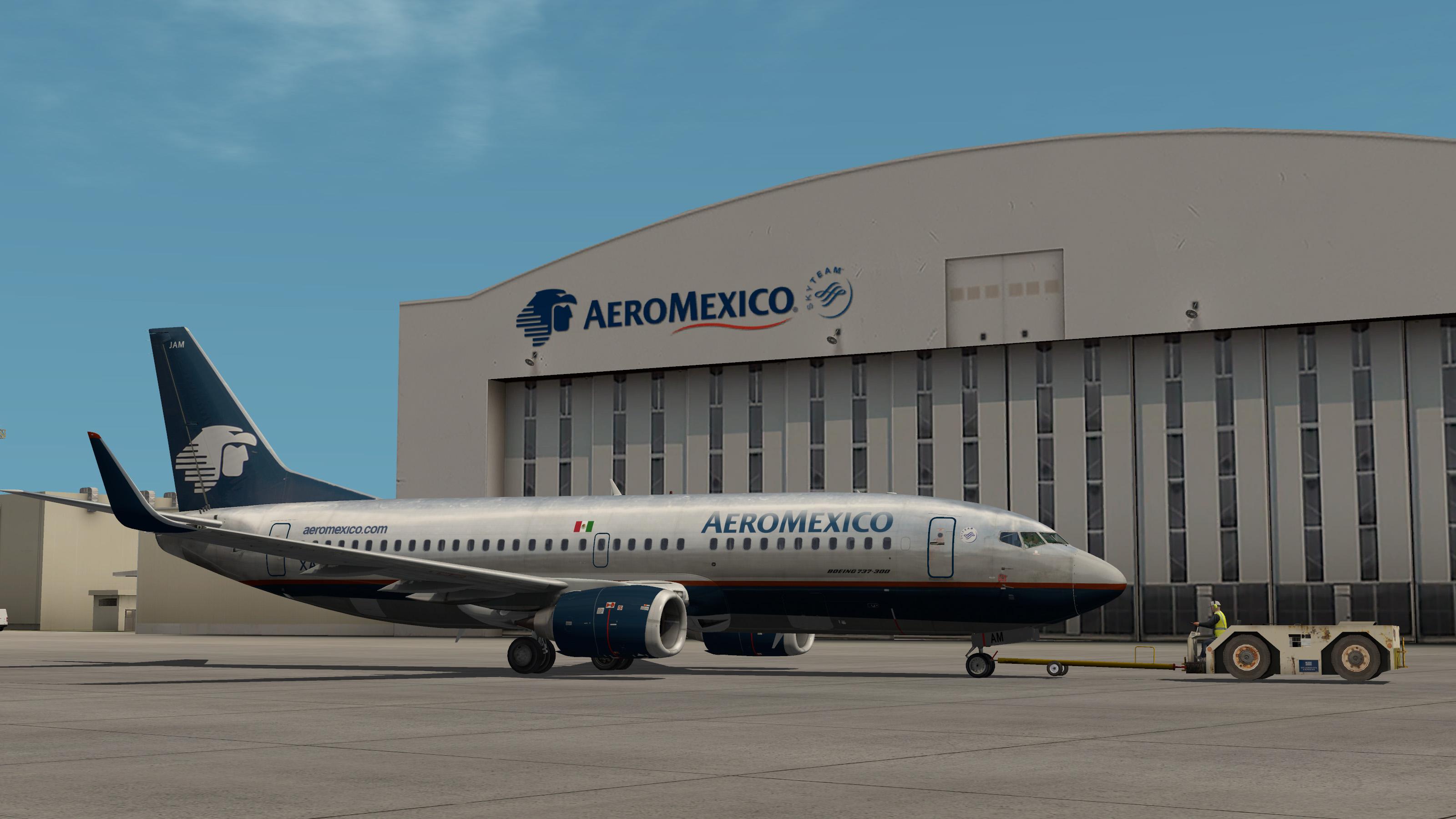 AeroMexico Classic IXEG 737-300 - Aircraft Skins - Liveries