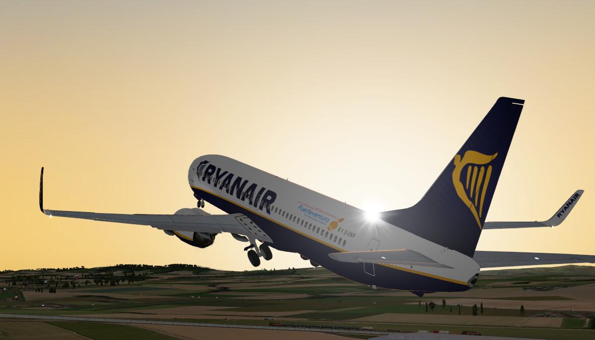 x737-800 Ryanair-Fuerteventura - Aircraft Skins - Liveries