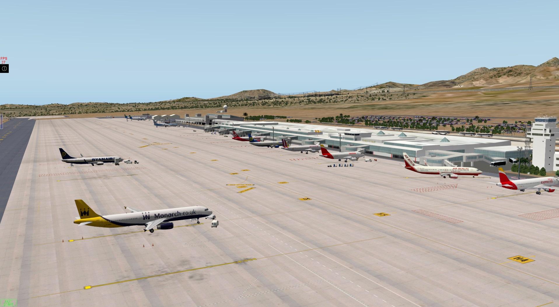 Aeroporto Tenerife Sud : Gcts tenerife south scenery packages v11 v 10 v9 x plane.org